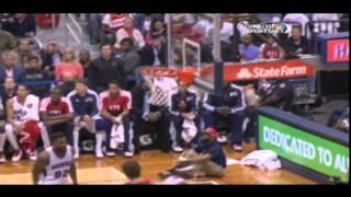 James Harden 45 POINT NIGHT! -- vs. Hawks 11/2/2012
