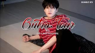 [3D+BASS BOOSTED] BTS (방탄소년단) - OUTRO : TEAR | bumble.bts