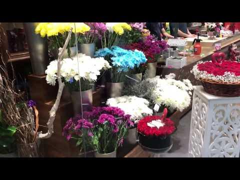 Beautiful Flower Shop at Dubai Festival City Mall