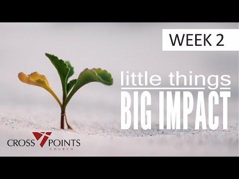 Little Things Big Impact - A Whisper