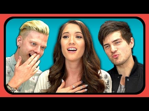 Save YOUTUBERS REACT TO FIRST KISS Images