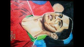 Drawing Cristiano Ronaldo CR7