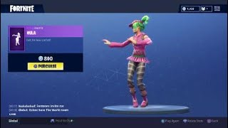 Fortnite: Battle Royale - New Emote - Hula (Zoey Skin)