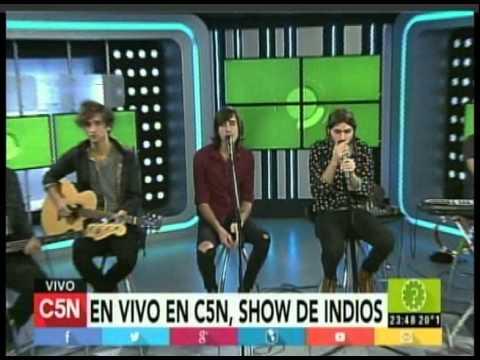 C5N -  MUSICA: PRESENTACION DE INDIOS (PARTE 4)