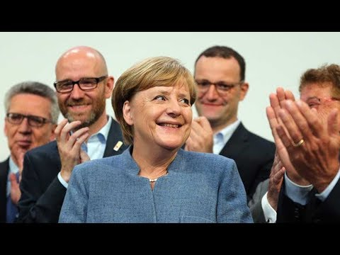 Merkel in final push for coalition to avert crisis