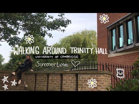 Inside the University of Cambridge ~ Walk around Trinity Hall (Central Site)