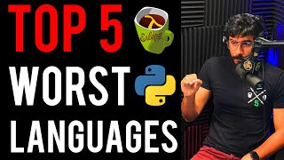 TOP 5 Worst Programming Languages to Learn in 2020