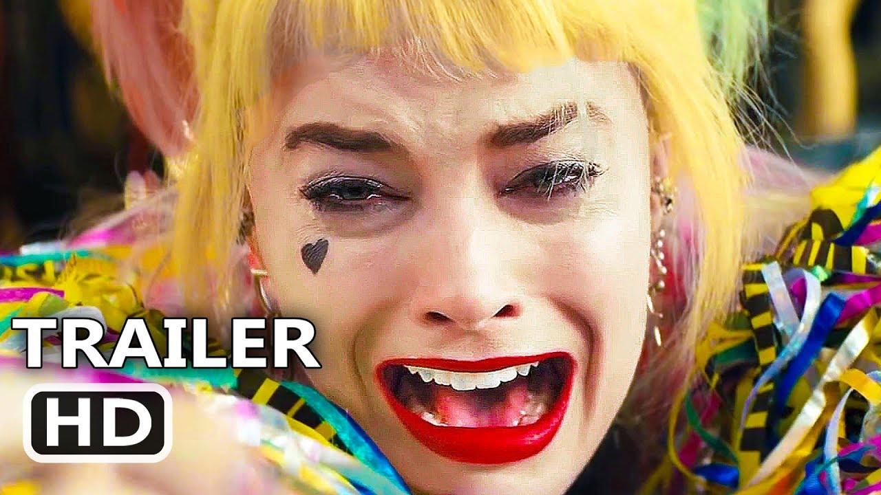 Birds Of Prey Official Trailer 2020 Harley Quinn Margot Robbie Dc Movie Hd Youtube