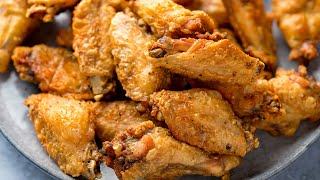 How to get the BEST Crispy Chicken Wings! | Oven Baked Chicken Wings Recipe