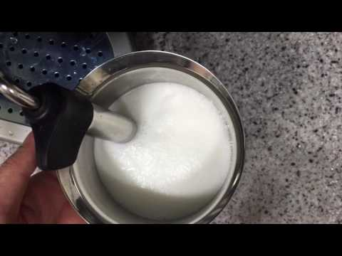 how to make microfoam with milk frother