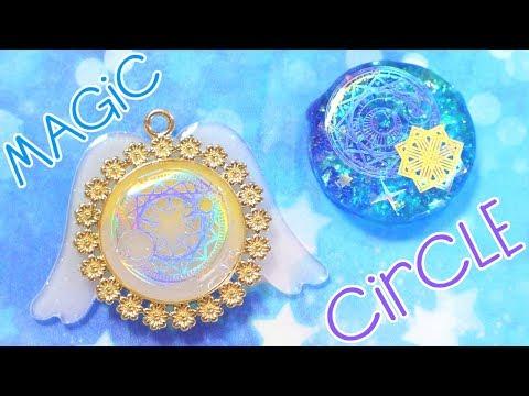 Magical Girl Style UV Resin Charm