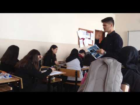 Teaching English in a high school in Turkey