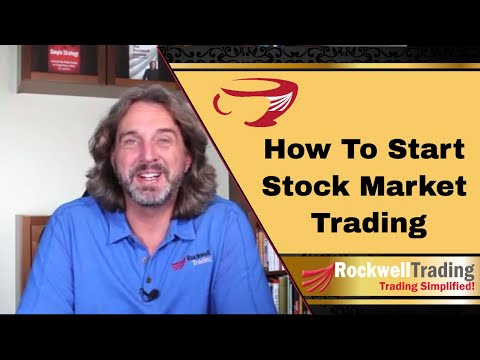 How To Start Stock Market Trading