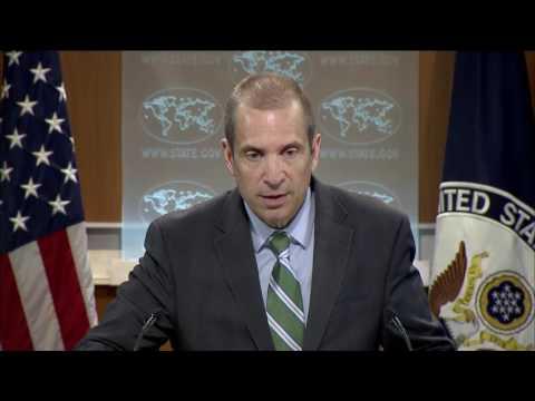 Department Press Briefing  - April 13, 2017