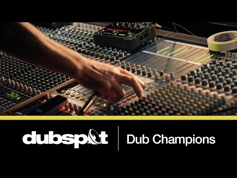 Mad Professor + Adrian Sherwood! Dubspot 'Dub and Bass' Workshop @ Dub Champions Festival!