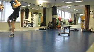 kickboxing and conditioning