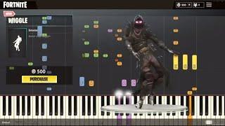 Fortnite Dance Emote - Wiggle - IMPOSSIBLE REMIX - Piano Cover