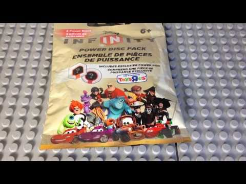 Disney Infinity Exclusive Toys R Us Power Disc Pack Opening