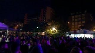 El bilbaíno barrio de Miribilla celebra su última noche de fiestas