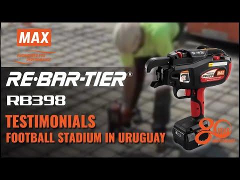 MAX REBAR TYING TOOL -FOOTBALL STADIUM IN URUGUAY RB398