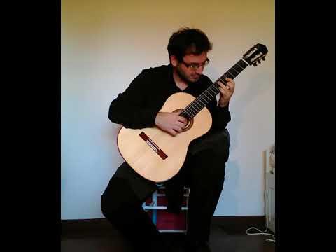 video di ammissione al master di chitarra del Conservatorio A.Boito di Parma