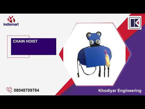Chain Pulley And Electric Wire Hoist Manufacturer