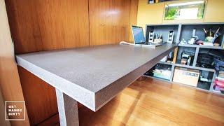 Loft Bed // Work Space : (Almost Floating) Desk - Ep. 4