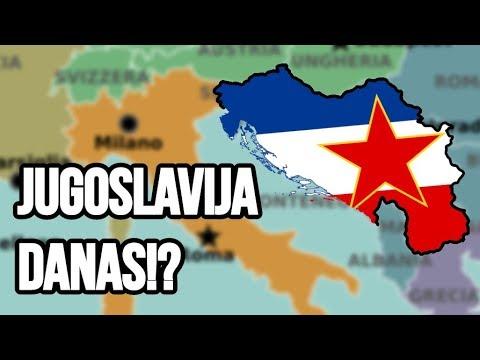 EVO KAKO BI JUGOSLAVIJA IZGLEDALA DANAS | SFRJ 2019