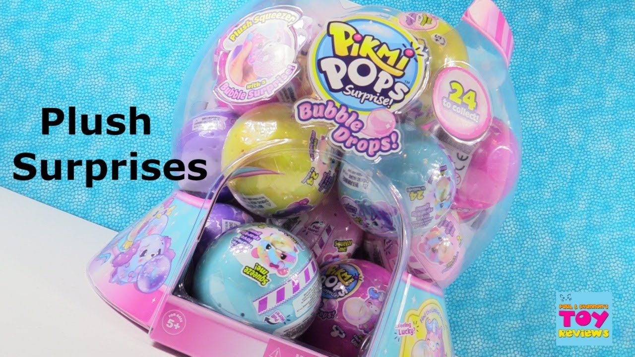 Pikmi Pops Surprise Bubble Drops Plush Squishy Blind Bag