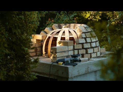 Пицца печь на дровах своими руками видео