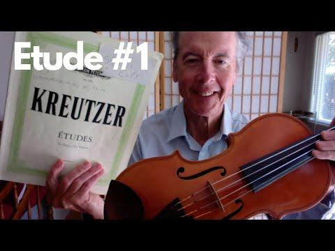 Etude #1 by Rodolphe Kreutzer (1766-1831)