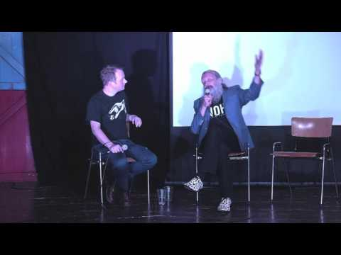Alan Moore and John Higgs at The Odditorium