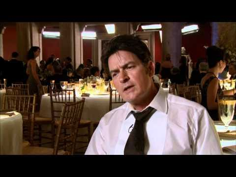 Interview with Charlie Sheen for Wall Street Money Never Sleeps poster
