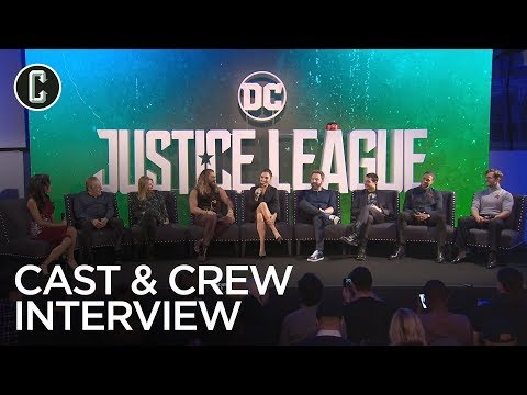 Justice League Press Conference: Ben Affleck, Gal Gadot, Hen