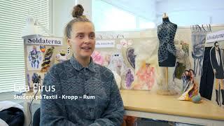Textil-Kropp-Rum