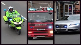 Police, Fire appliances & Ambulances Responding - BEST OF FEBRUARY 2015 -