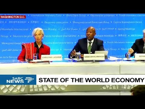IMF MD Lagarde, IMFC Chairman Kganyago on the world economy conclusions
