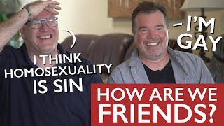 This Christian Minister and Gay man are friends??