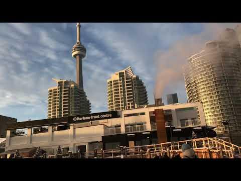 Toronto Harborfront In December