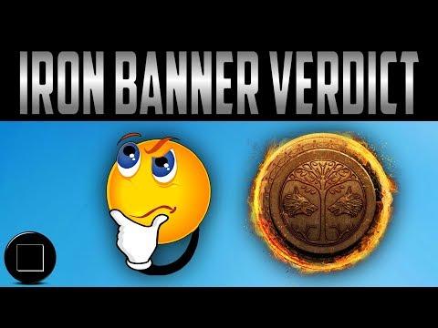Destiny 2 - The Iron Banner Verdict (RANT)