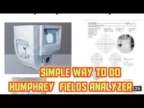 Humphrey fields analyzer