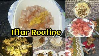 My Simple Iftar Rouтine | 7th Day Of Ramadan | Ramadan Kareem ki barktain