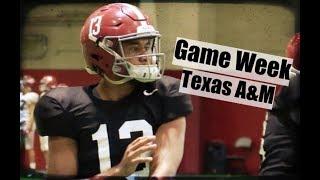 Alabama Crimson Tide Football: Watch Tua Tagovailoa and Damien Harris prepare for Texas A&M