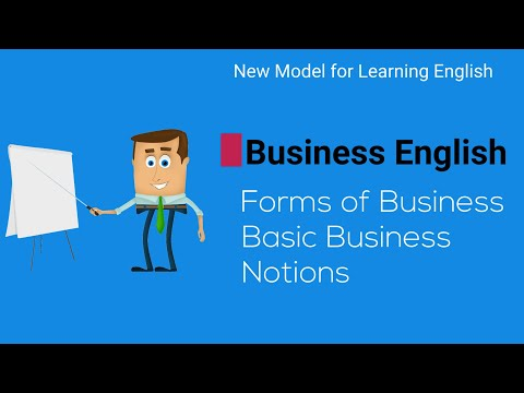 Business English. Types Of Business. Basic Business Vocabulary