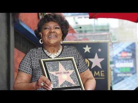 Shirley Caesar - Walk of Fame Ceremony