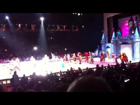 Disney On Ice Houston Texas Reliant Stadium Youtube