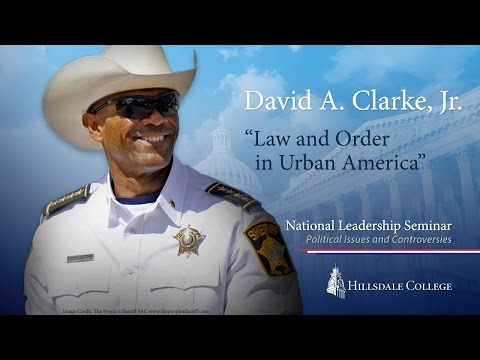 """Law and Order in Urban America"" - David A. Clarke, Jr."