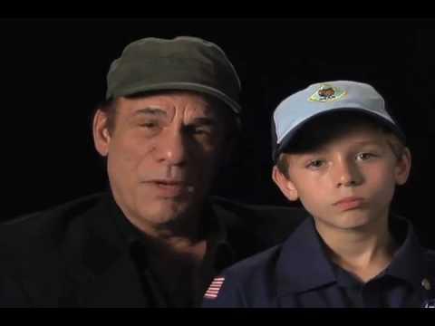 """Hollywood Says Thanks"" -- Robert Davi and son"