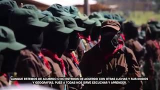 Inauguración del 2º Encuentro Internacional de Mujeres que Luchan en Chiapas