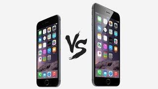 iOS 11'de iPhone 6 vs iPhone 6 Plus